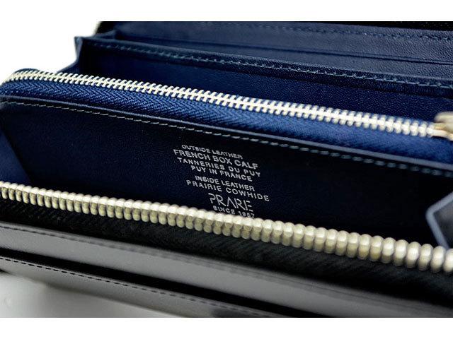 フレンチボックスカーフ ラウンドファスナー長財布 「プレリー1957」 NP11016 クロ 特徴