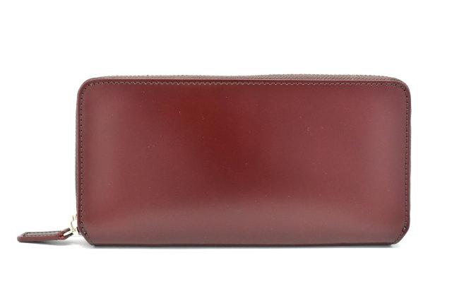CORDOVAN1957(コードバン1957)ラウンドファスナー長財布 「プレリー1957」 NP12030 チョコ 正面