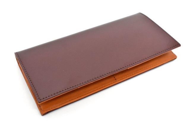 CORDOVAN1957(コードバン1957) 長財布(小銭入れあり) 「プレリー1957」 NP12127 チョコ 正面