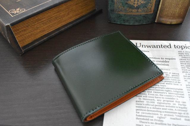 CORDOVAN1957(コードバン1957) 二つ折り財布(小銭入れなし) 「プレリー1957」 NP12318 商品特徴