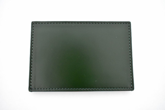 CORDOVAN1957(コードバン1957) カードケース 「プレリー1957」 NP12675 グリーン 正面