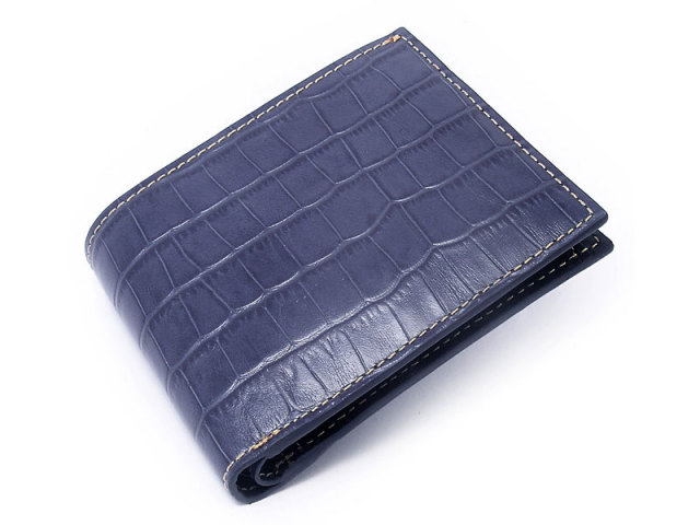 CROCO CROSS(クロコクロス) 二つ折り財布 「プレリー1957」 NP14210 コン 正面