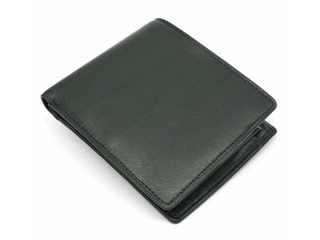 BabySkinKip (ベビースキンキップ) 二つ折り財布(小銭入れあり) 「プレリー1957」 NP19113 グリーン 正面