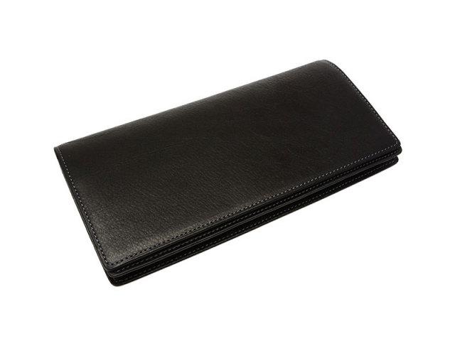 BabySkinKip (ベビースキンキップ) 長財布(通しマチ) 「プレリー1957」 NP19715 クロ 正面