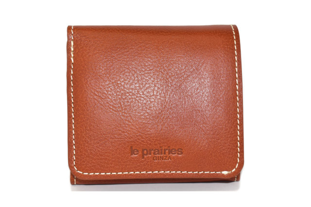 FAV(ファボ) 二つ折り財布(BOX小銭入れあり) 「ル・プレリーギンザ 」 NP20311 チャ 正面