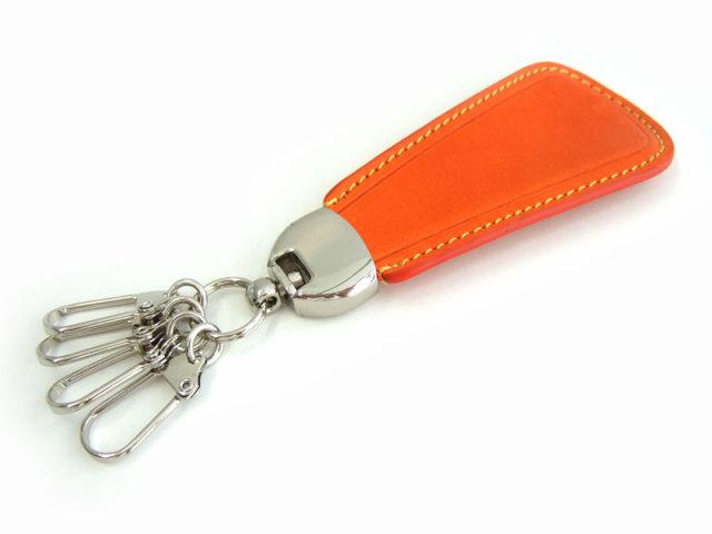 Gadget(ガジェット) 靴べらキーホルダー 「プレリー1957」 NP44935 オレンジ 正面