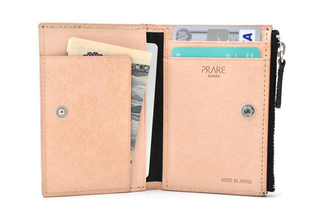 ナチュラルコードバン スマートコンパクト コンパクト財布 「プレリーギンザ」 NP47418 イメージ画像