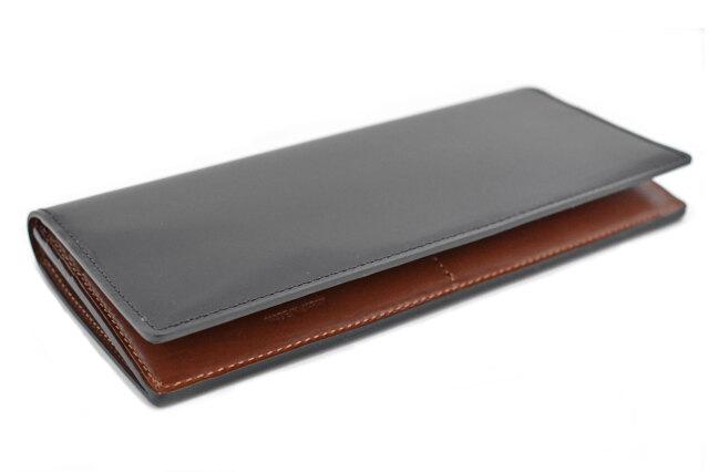Natural Cordovan(ナチュラルコードバン)  長財布 「プレリーギンザ」 NP48033 クロ 正面