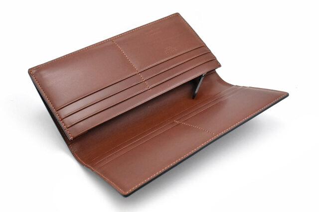 Natural Cordovan(ナチュラルコードバン)  長財布 「プレリーギンザ」 NP48033 商品特徴