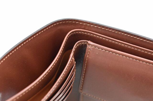 Natural Cordovan(ナチュラルコードバン)  二つ折り財布(小銭入れあり) 「プレリーギンザ」 NP48130 商品特徴