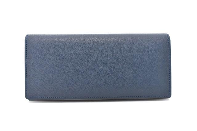 KOBE LEATHER(神戸レザー) 長財布(小銭入れあり)「プレリーギンザ」 NP55017 コン 正面