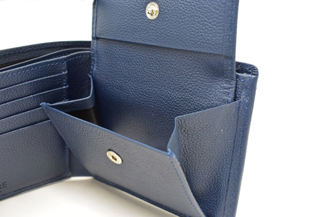 KOBE LEATHER(神戸レザー) 二つ折り財布(小銭入れあり)「プレリーギンザ」 NP55115 商品特徴