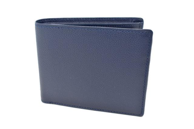 KOBE LEATHER(神戸レザー) 二つ折り財布(小銭入れあり)「プレリーギンザ」 NP55115 コン 正面
