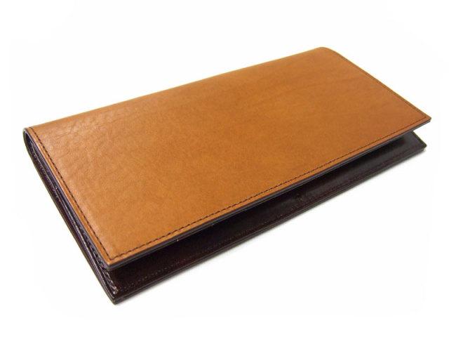 Classico(クラシコ) 長財布(小銭入れあり) 「プレリーギンザ」 NP57122 チャ 正面