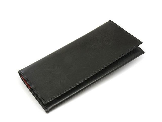 NP58127 Fusion(フュージョン) 長財布  「プレリーギンザ」 ブラック 正面