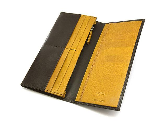 NP58127 Fusion(フュージョン) 長財布  「プレリーギンザ」 ブラック 内作り