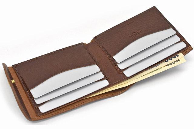 ミニマルクラシック 二つ折り財布(小銭入れなし) 「プレリーギンザ」 NP59117 イメージ画像