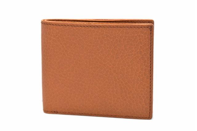 ミニマルクラシック 二つ折り財布(小銭入れあり) 「プレリーギンザ」 NP59217 ブラウン 正面