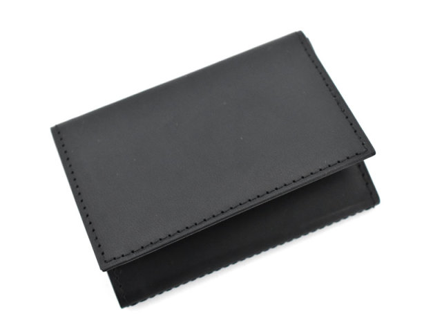 PRESSo(プレッソ) コンパクト財布 「プレリーギンザ」 NP70010 ブラック 正面