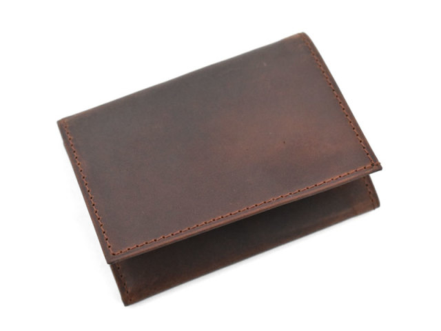 PRESSo(プレッソ) コンパクト財布 「プレリーギンザ」 NP70010 モカ 正面