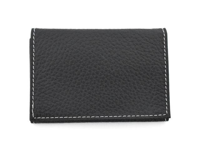PRESSo pique(プレッソ ピケ) コンパクト財布 「プレリーギンザ」 NP70110 ブラック 正面