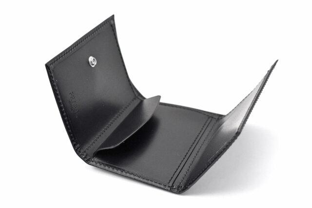 PRESSo(プレッソ) new コンパクト財布 「プレリーギンザ」 NP70610 ブラック 内作り