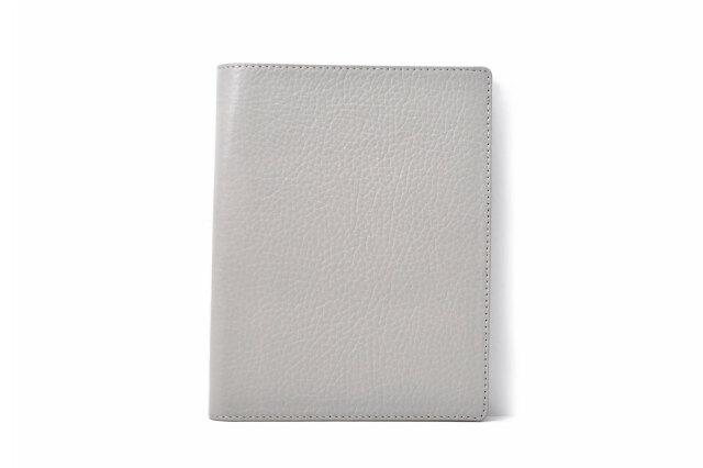 パスポートケース 鳥羽 「プレリーギンザ」 NP70914 グレー 正面