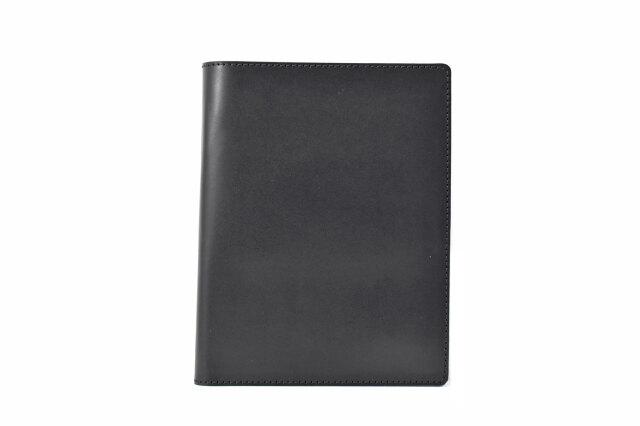 パスポートケース 鳥羽 「プレリーギンザ」 NP70915 ブラック 正面
