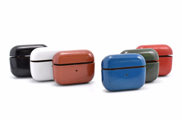 AirPods Pro Leathercase KICS(エアーポッツプロ レザーケース) 「プレリーギンザ」 NP71398 カラーバリエーション