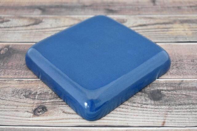 Artigiano(アルチジャーノ) 牛革トレー正方形  「プレリーギンザ」 NP72013 ブルー 裏面
