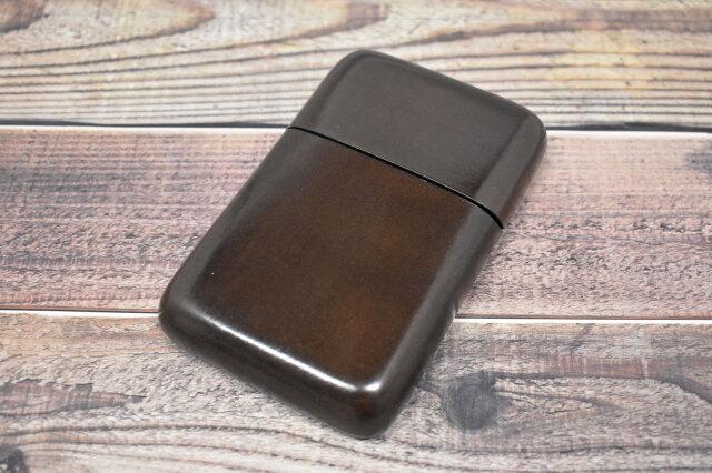 Artigiano(アルチジャーノ) カードケース  「プレリーギンザ」 NP72413 ダークブラウン 正面