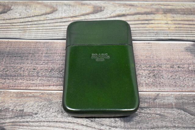 Artigiano(アルチジャーノ) カードケース  「プレリーギンザ」 NP72413 グリーン 裏面
