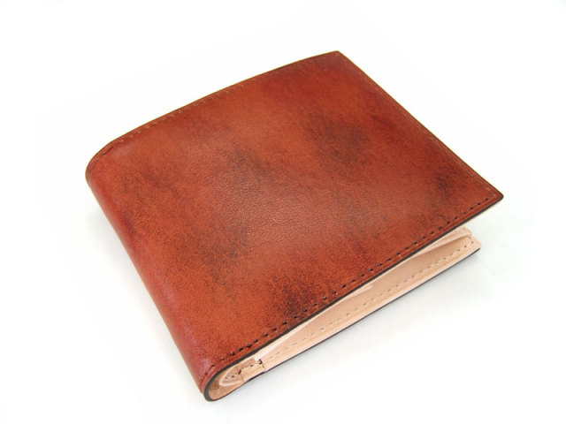 Patine(パティーヌ) 二つ折り財布(小銭入れあり) 「プレリーギンザ」 NP76220 チャ 正面