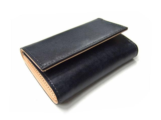 Patine(パティーヌ) 三つ折り財布(コンパクト財布) 「プレリーギンザ」 NP76316 クロ 正面
