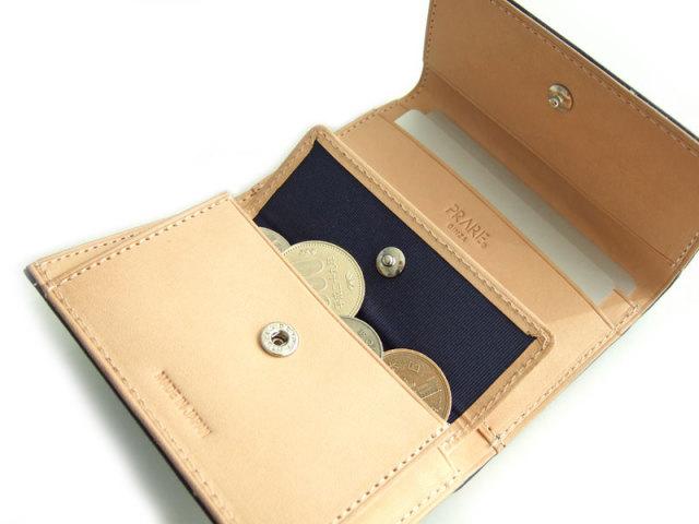 Patine(パティーヌ) 三つ折り財布(コンパクト財布) 「プレリーギンザ」 NP76316 内作り