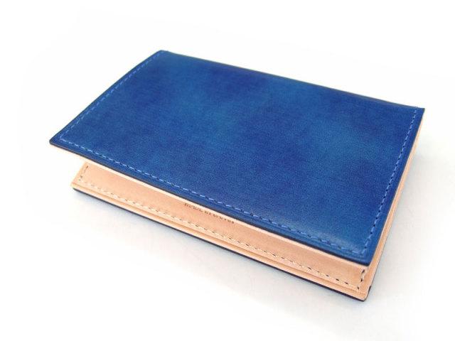 Patine(パティーヌ) マルチパスケース 「プレリーギンザ」 NP76412 ブルー 正面