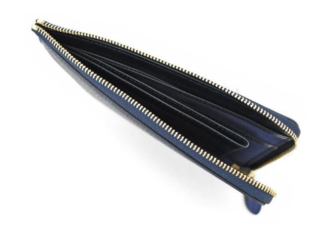 Patine2(パティーヌ2) L字ファスナー長財布 「プレリーギンザ」 NP78020 ブルー 内作り