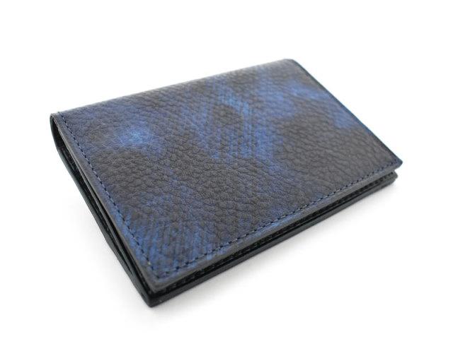 Patine2(パティーヌ2) コンパクト二つ折り財布 「プレリーギンザ」 NP78312 ブルー 正面