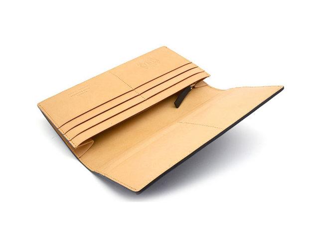 JUWEL Cordovan(ジュエルコードバン)  長財布 「プレリーギンザ」 NPJ1042 クロ 内作り