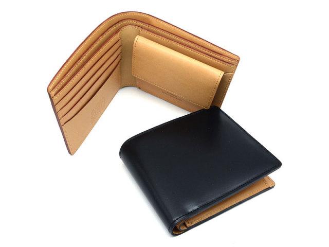 JUWEL Cordovan(ジュエルコードバン)  二つ折り財布(小銭入れあり) 「プレリーギンザ」 NPJ1135 イメージ画像