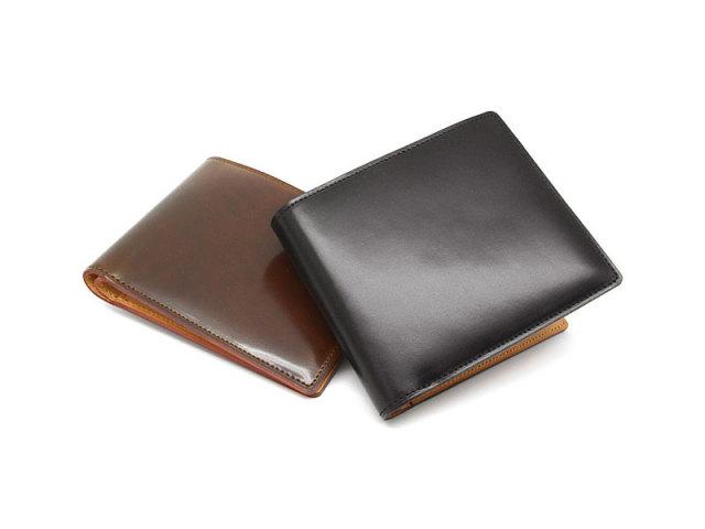JUWEL Cordovan(ジュエルコードバン)  二つ折り財布(小銭入れなし) 「プレリーギンザ」 NPJ1233 イメージ画像