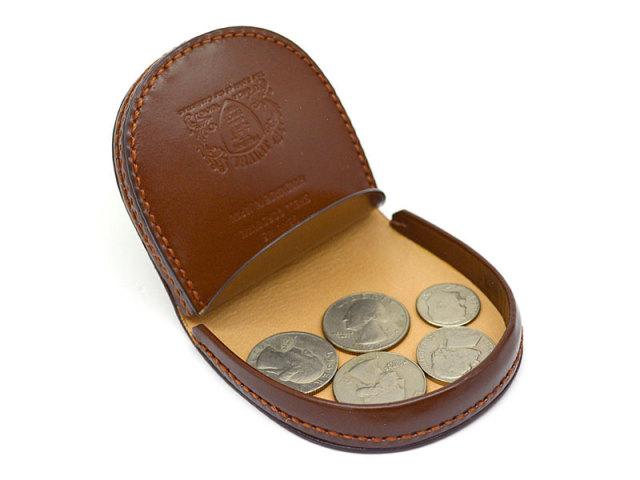 JUWEL Cordovan(ジュエルコードバン) 馬蹄型小銭入れ 「プレリーギンザ」 NPJ1520 チョコ 特徴