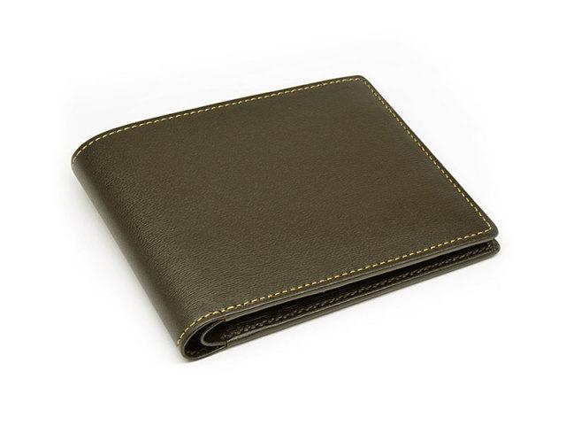 JUWEL Lamb (ジュエル ラム) 二つ折り財布(小銭入れなし) 「ジュエル」 NPJ3317 チョコ 正面