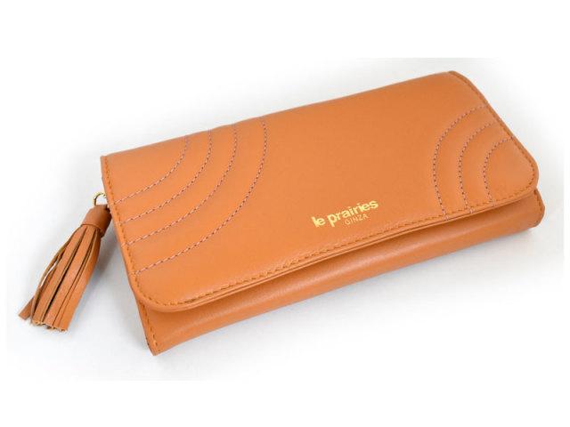 Minamo(ミナモ) 長財布 「ル・プレリーギンザ 」 NPL0112 イエロー 正面