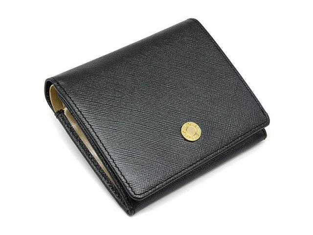 Bijue(ビジュー) 二つ折り財布(小銭入れあり) 「ル・プレリー 」 NPL1280 クロ 正面