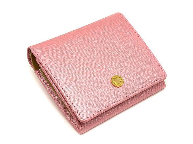 Bijue(ビジュー) 二つ折り財布(小銭入れあり) 「ル・プレリー 」 NPL1280 ピンク 正面