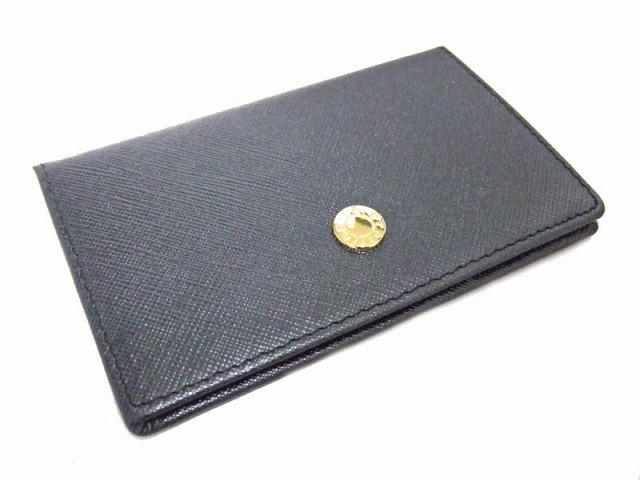 Bijue(ビジュー) カードケース 「ル・プレリー 」 NPL1755  クロ 裏面