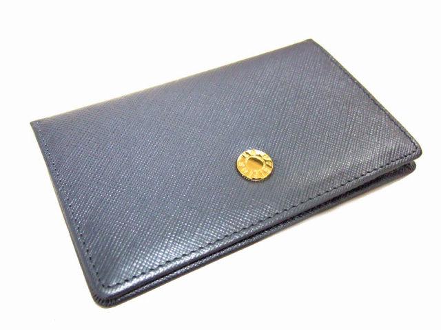 Bijue(ビジュー) カードケース 「ル・プレリー 」 NPL1755  ネイビー 裏面