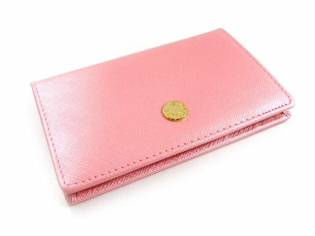 Bijue(ビジュー) カードケース 「ル・プレリー 」 NPL1755  ピンク 裏面