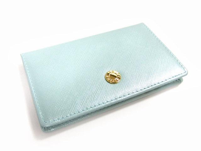 Bijue(ビジュー) カードケース 「ル・プレリー 」 NPL1755  サックス 裏面